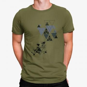Camiseta Triángulos Geométricos
