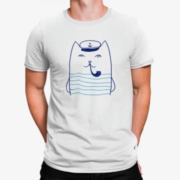 Camiseta Gato Marinero
