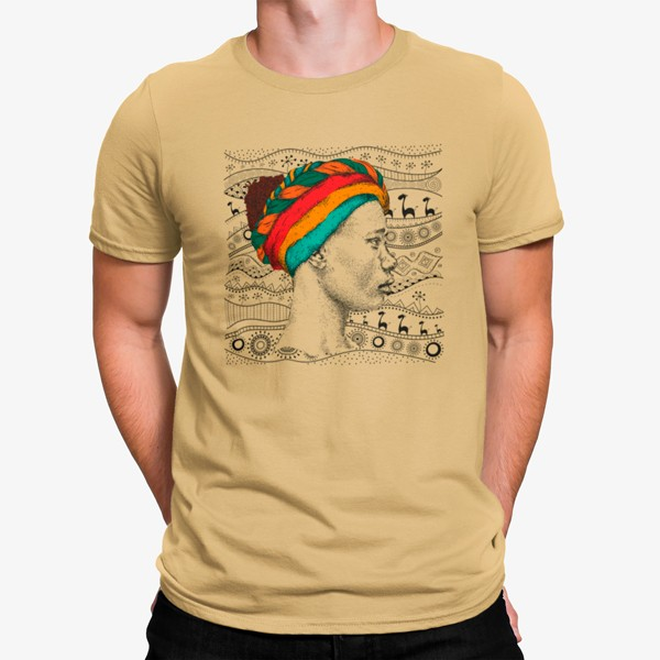 Camiseta Mujer África