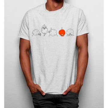 Camiseta Oveja Haciendo Yoga