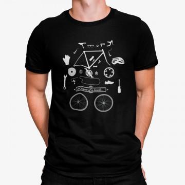 Camiseta 24 Partes de Bicicleta