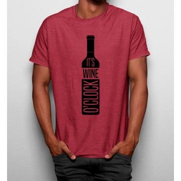 Camiseta Hora de Tomar Vino