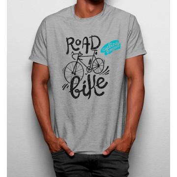 Camiseta Bicicleta de Carretera Creativa