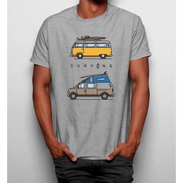 Camiseta Furgoneta Surfing