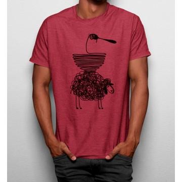 Camiseta Oveja Espaguetis