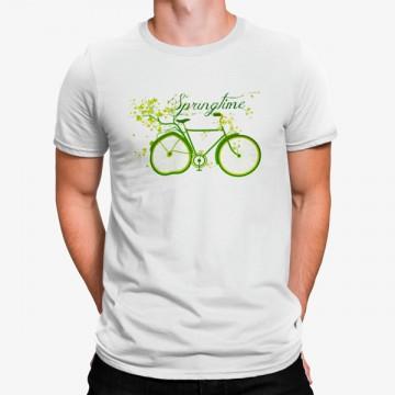 Camiseta Bicicleta Primavera