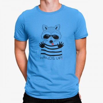 Camiseta Tejón Manos Arriba