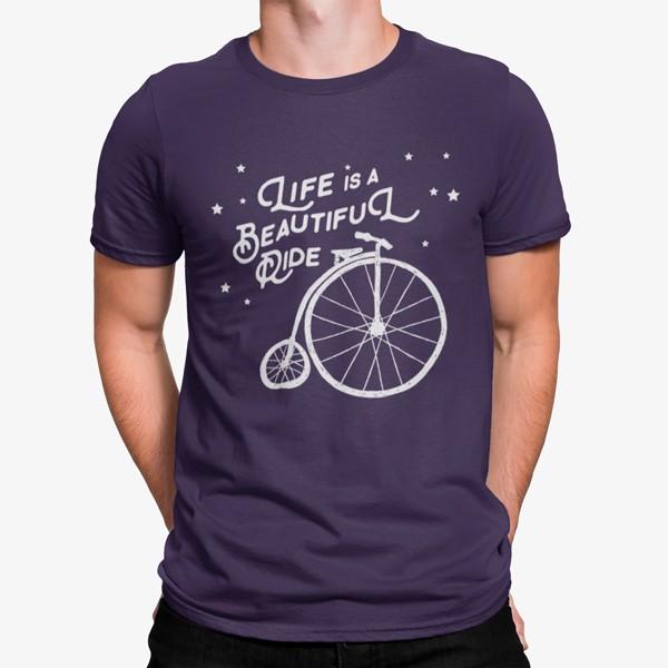 Camiseta Hermoso Paseo Bicicleta