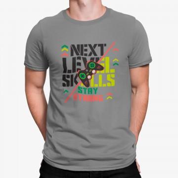 Camiseta Nível de Habilidades Video Juegos