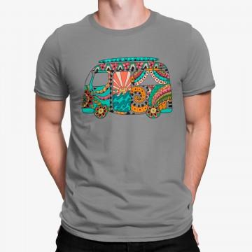 Camiseta Furgoneta Van Hippie