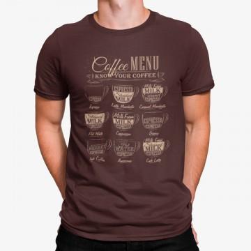 Camiseta Menú de Café