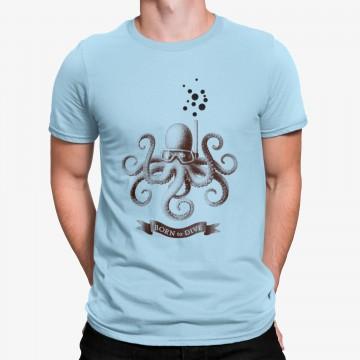 Camiseta Pulpo Nacido para Bucear