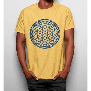 Camiseta Esfera Geométrica