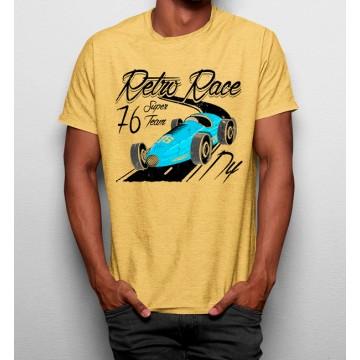 Camiseta Retro Coche Carrera