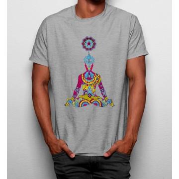 Camiseta Buda Meditación Yoga