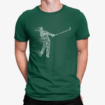 Camiseta Golfista Minimalista