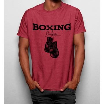 Camiseta Campéon Boxeo