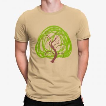 Camiseta Árbol Minimalista Dibujo