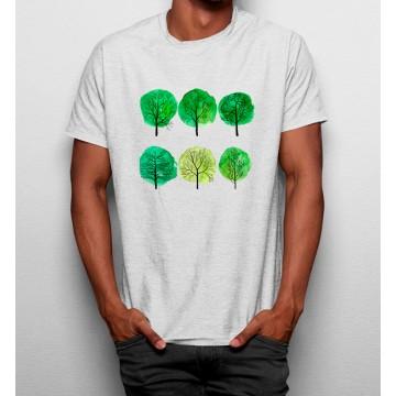 Camiseta Árbol Pintura Bosque