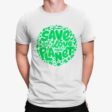 Camiseta Salva y Ama Tu Planeta