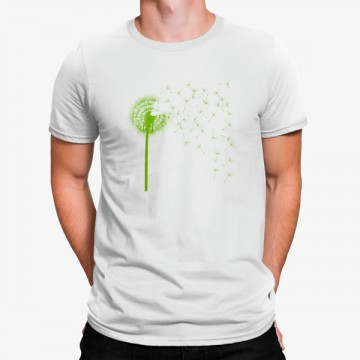 Camiseta Diente de Léon Verde