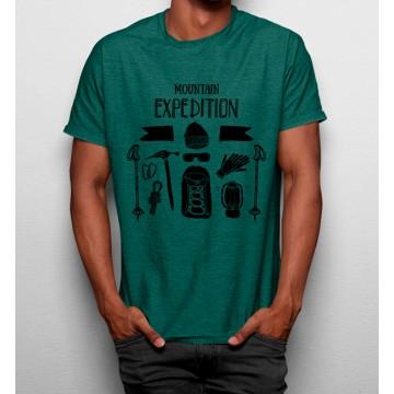 Camiseta Expedición Montaña Naturaleza