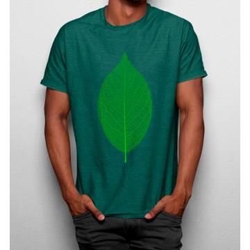 Camiseta Hoja Minimalista