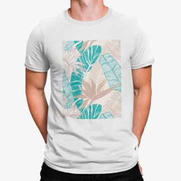 Camiseta Hojas Palmeras