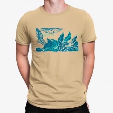 Camiseta Hojas Naturaleza