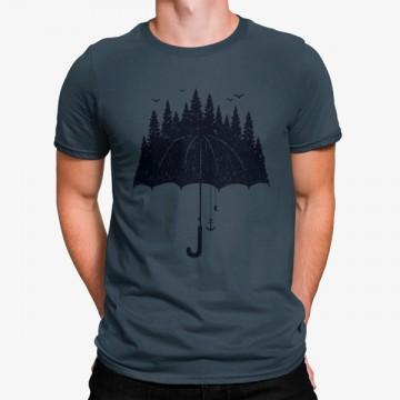 Camiseta Paraguas Naturaleza Bosque