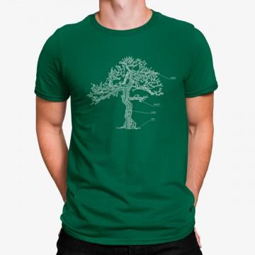 Camiseta Partes Árbol Naturaleza