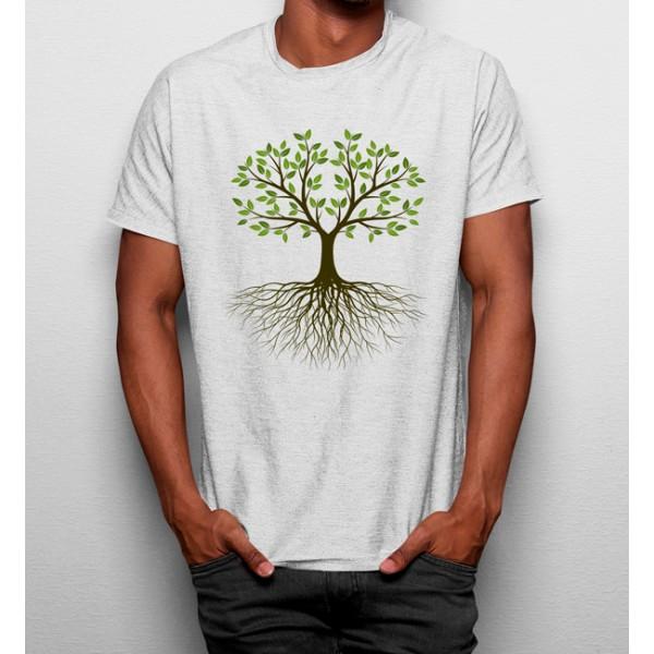 Camiseta Raízes Árbol Naturaleza