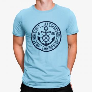 Camiseta Ancla Explorar Mar