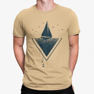 Camiseta Vela Mar Sunset
