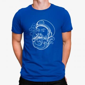 Camiseta Capitán Anciano con Pipa