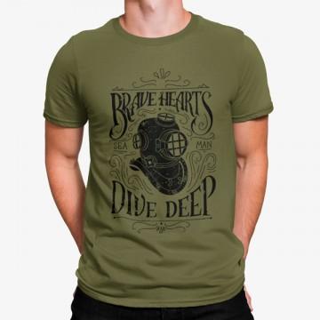 Camiseta Buceador Vintage