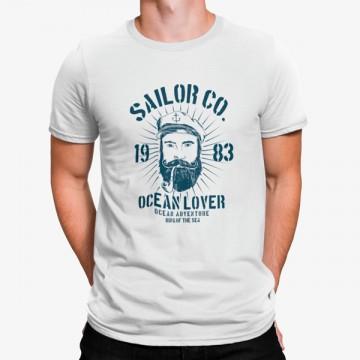 Camiseta Marinero Amante del Oceano