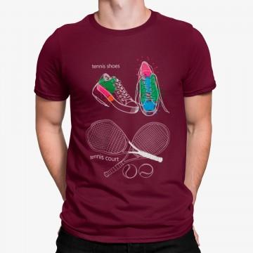 Camiseta Raqueta Tenis Court