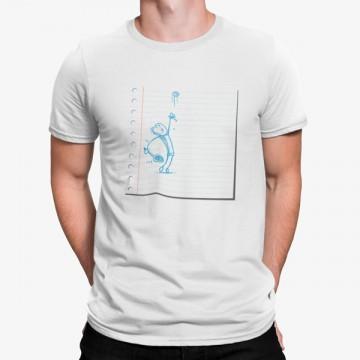 Camiseta Dibujo Cuaderno Tenista