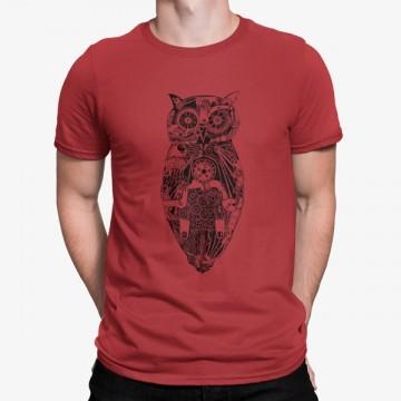 Camiseta Búho Electronico