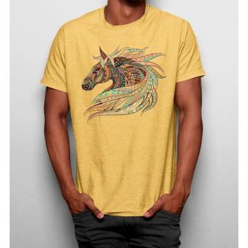 Camiseta Caballo Colorido