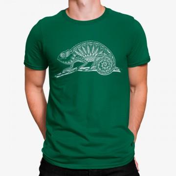 Camiseta Camaleón Dibujo Minimalista