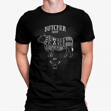 Camiseta Carnicero Partes Vaca