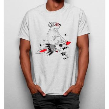 Camiseta Coala Cohete Espacial