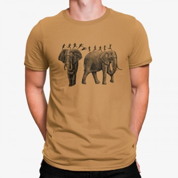 Camieta Elefantes Dibujo
