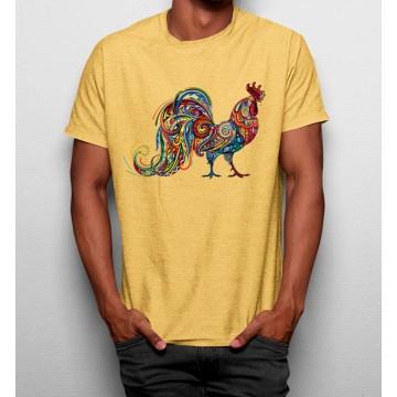 Camiseta Gallo Artístico