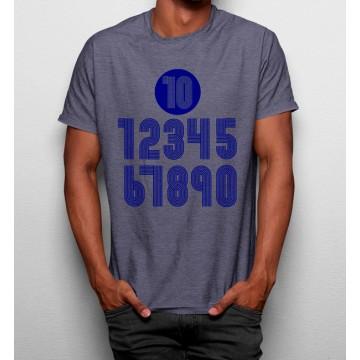 Camiseta Números