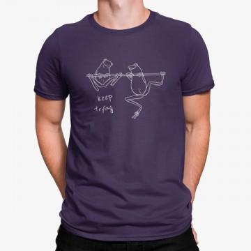 Camiseta Sigue Intentando Ranas