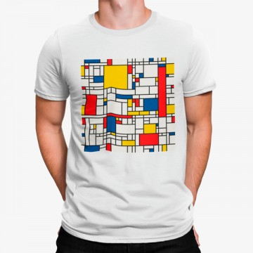 Camiseta Mondrian