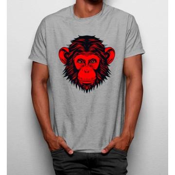 Camiseta Mono Rojo